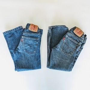 Kids Levis 514 Slim Straight Bundle, size 5